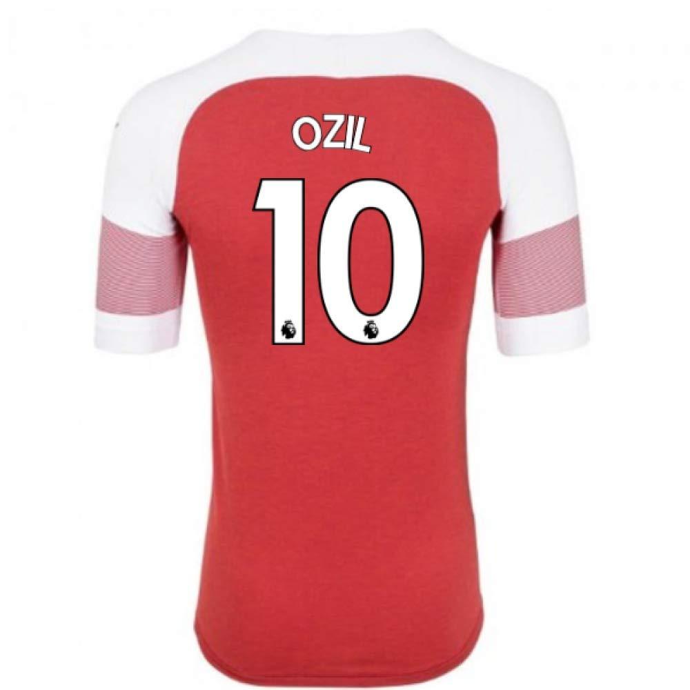 2018-2019 Arsenal Puma Home Football Soccer T-Shirt Trikot (Mesut Ozil 10)