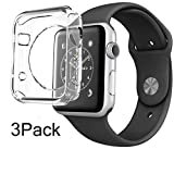 For Apple Watch Case 38mm CaseHQ Hard Soft TPU Transparent...