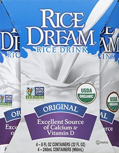 Rice Dream Rice Drink, Original, Pack of 18 by Rice Dream