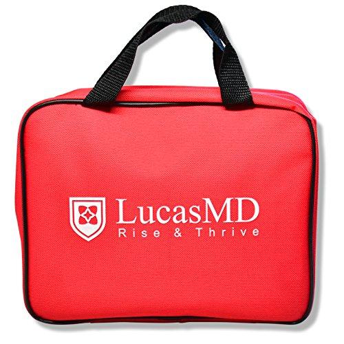 LucasMD Complete Survival First Aid Kit (185-Piece Set) - De