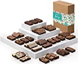 Fairytale Brownies Spring Sprite 36 Gourmet Chocolate Food Gift Basket - 3 Inch x 1.5 Inch Snack-Size Brownies - 36 Pieces - Item CR236SP