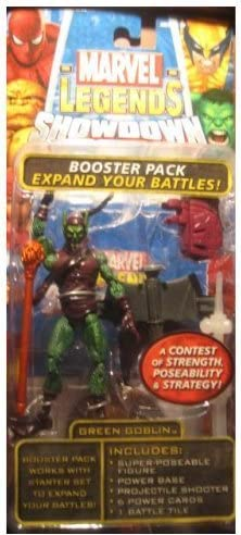 Marvel Legends Superhero Showdown Booster Pack with Green Goblin Action Figure