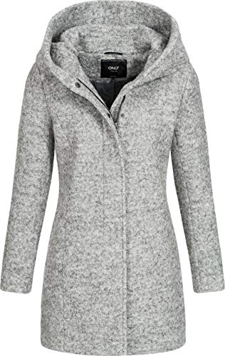 ONLY Onlsedona Boucle Wool Coat OTW Noos mantel
