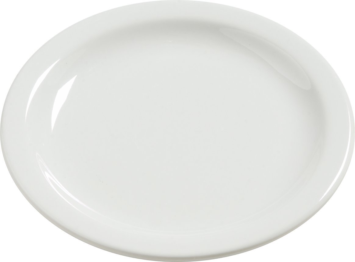 Carlisle 4385637 Dayton Melamine Bread & Butter Plates, 5.5'', Bavarian Cream (Set of 48)