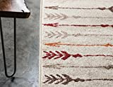 Unique Loom Autumn Collection Modern Arrows Warm