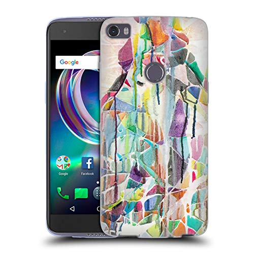 Official Lauren Moss EMI Koussi Mountains Soft Gel Case for Alcatel Idol 5s 6060X