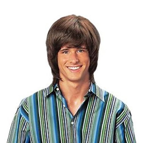 Brown 70's Shag Wig - 3