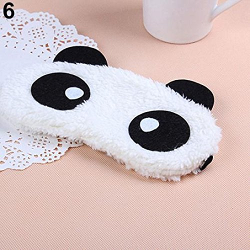 BaoST 3D Cartoon Eye Sleep Mask Padded Shade Cover Rest Relax Sleeping Blindfold Cover for Home and Travel (#6) by BaoST (Image #1)