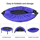 "ATIVAFIT 40"" Foldable Trampoline Mini Exercise"