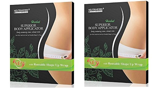 Neutriherbs Body Applicators, 10-Pcs, Large, - Body Weight Loss Wraps
