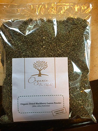 Organic Bio Herbs-Organic Dried Blackberry Leaves (Folia Rubus Fruticosus) 6 (Blackberry Leaf Tea)