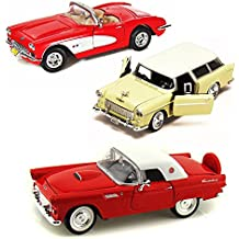 Best of 1950s Diecast Cars - Set 19 - Set of Three 1/24 Scale Diecast Model Cars