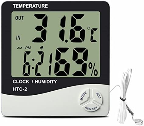 hydroponics hygrometer thermometer grow tent