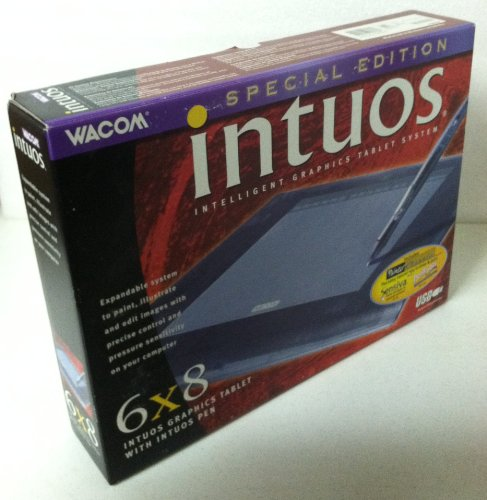 """Wacom Intuos 6 X 8"""" USB Tablet with Intuos Pen/Painter Classic"""