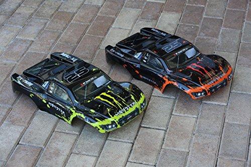 Set of 2 Bodies for Slash Body 1/10 Truck Car Shell T / E Maxx Summit