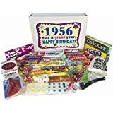 60th Birthday Gift Basket Box Jr. 1956 Retro Nostalgic Candy 50s Decade