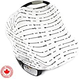 """Ultrasoft Multi-Use Stretchy Baby Car Seat Canopy 