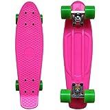 RIMABLE Complete 22' Skateboard PinkGreen