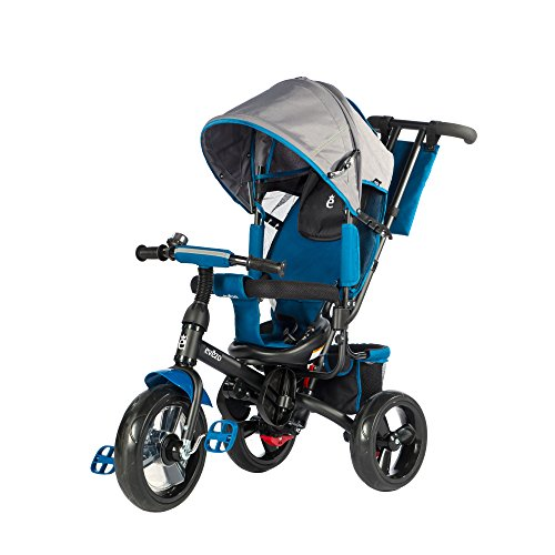 Blue 3 Wheeler Pram - 6