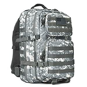 108b13004cd Amazon.com   REEBOW GEAR Military Tactical Backpack Large Army 3 Day ...