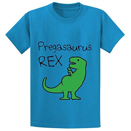 Price comparison product image pregasaurus rex cute Unisex Crew Neck Personalized T Shirt Blue