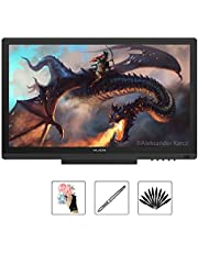 HUION kamvas GT-191 Tableta Monitor IPS 19.5 Pulgadas 8192 Niveles Pantalla de Pen para Windows y Mac PC