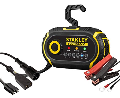 STANLEY FATMAX GBCPRO2 Multi-Volt Golf Cart & Vehicle Battery Charger/Maintainer
