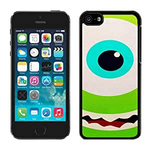 iPhone 5C Case ,Unique And Fashionable Designed Case With Monster University Mike and Sulley 13 Black For iPhone 5C Phone Case