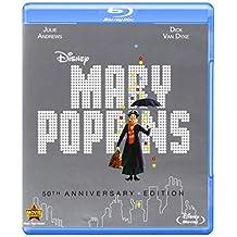 Mary Poppins: 50th Anniversary Edition (Blu-ray + DVD + Digital Copy) by Walt Disney Studios Home Entertainment