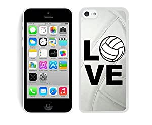 BINGO discount Volleyball Keep Calm Play On Volleyball Player iPhone 5C Case White Cover by icecream design