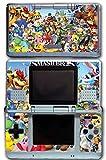 Super Smash Bros Ultimate Melee Brawl Mario Yoshi Mega Man Zelda Sonic Metroid Video Game Vinyl Decal Skin Sticker Cover for Original Nintendo DS System
