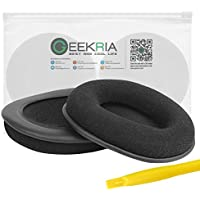 Geekria Earpads for Sony MDR-RF4000, RF5000, RF6000, RF6500, RF7000, RF7100, MDR-DS6000, DS6500, DS7000, DS7100 Headphones Replacement Ear Pad / Ear Cushion / Ear Cups / Ear Cover / Repair Parts