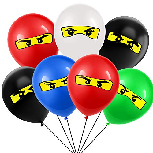 Ninja Eyes - Ningago Birthday Party Supplies Ningago Ballloons