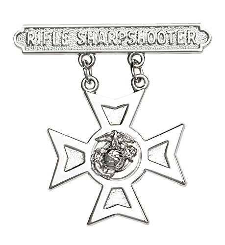 USMC Rifle Sharpshooter Qualification Badge