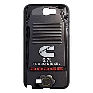 Cummins Dodge Turbo Diesel 6.7 L Top Protective Hard Plastic Cover Case for Samsung Galaxy Note 2 N7100 from Good luck to