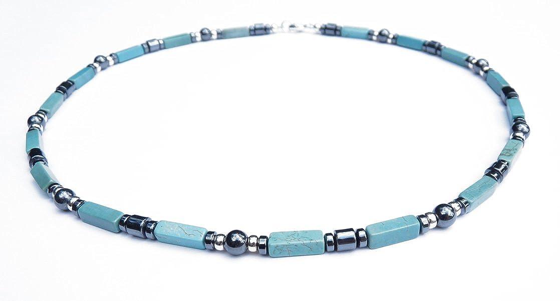 8d24e0d7e948d Damali Mens Wisdom Mens Crystal Healing Necklaces Blue Green ...