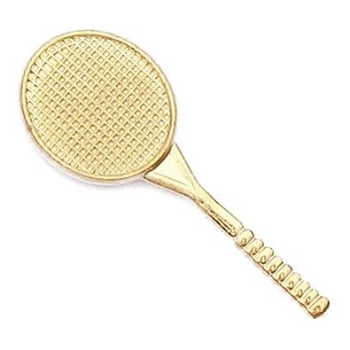 JDS Industries PinMart's Sports Tennis Gold Chenille Sports Lapel Pin
