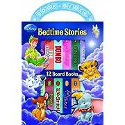Disney: Bedtime Stories (12 Board Book Block)