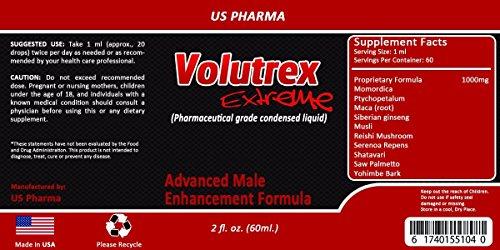 VOLUTREX - Pharma Grade - SEMEN VOLUMIZER - 80% more effective than pill - increase up to 300% - MAX STRENGTH - All Natural