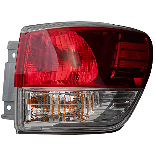 BROCK Tail Light Replacement for 2013-2016 Nissan Pathfinder Passengers Quarter Panel Mounted Lamp 265503KA0A 26550-3KA0A