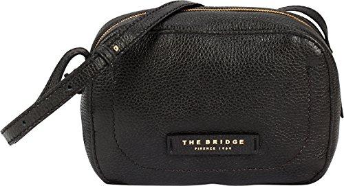 The Bridge Plume Soft Donna Borsa a tracolla I pelle 22 cm Nero-goldfarben