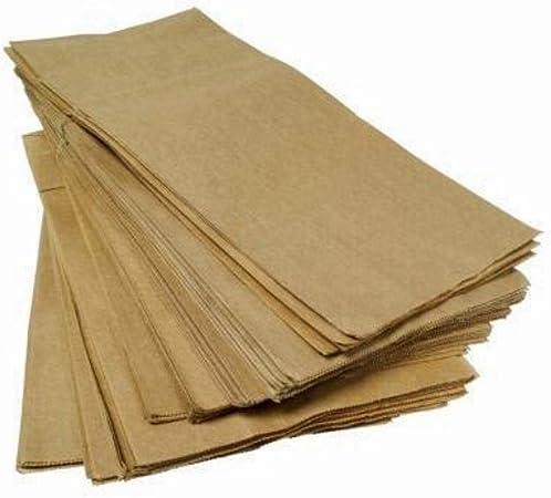 Caja de 2 kg Bolsas de papel marrón Habana para Pan, Pizza, artículos de horno y repostería: Amazon.es: Hogar