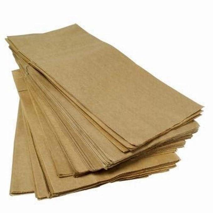 Caja de 2 kg Bolsas de papel marrón Habana para Pan, Pizza ...