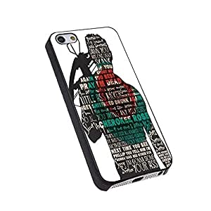 Daryl Dixon Quote The Walking Dead for Iphone Case (iPhone 6/6S black)