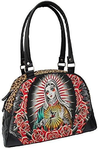Liquorbrand-Faith-Punk-Virgin-Mary-Rockabilly-Tattoo-Gun-Leopard-Handbag-Purse