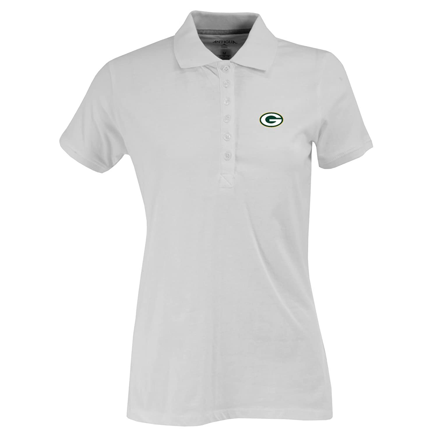 Amazon Nfl Womens Green Bay Packers Spark Short Sleeve Polo