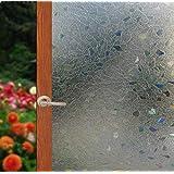 Arthome Película Decorativa de Vidrio,Sin Pegamento Vinilo Pegatina de Ventanas,Proteger La Privacidad Adherencia…