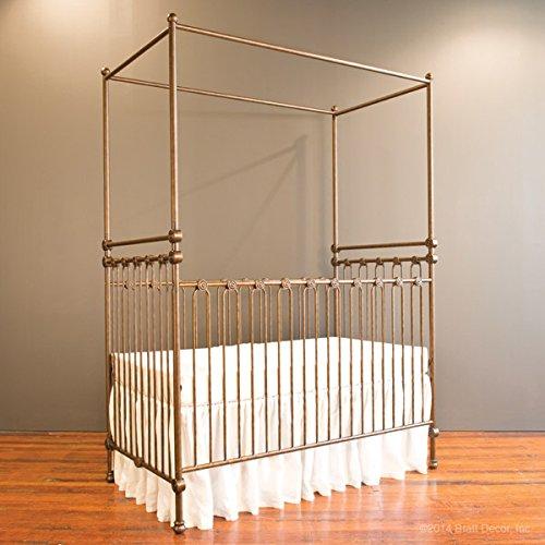 Bratt Decor joy canopy crib vintage gold