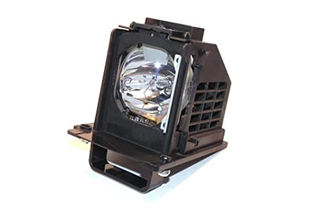 Compatible Mitsubishi RPTV Lamp Replaces Model WD-60638 with Housing
