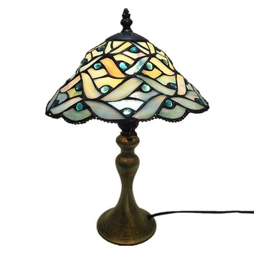 Lámpara De Mesa Vidrio Coloreado, Protección para Los Ojos ...